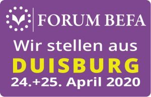 FORUM BEFA Duisburg - 24. bis 25. April 2020